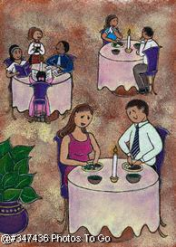 Illustration: Table for two